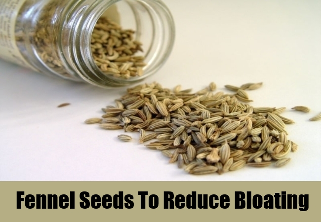 Fennel Seeds To Reduce Bloating
