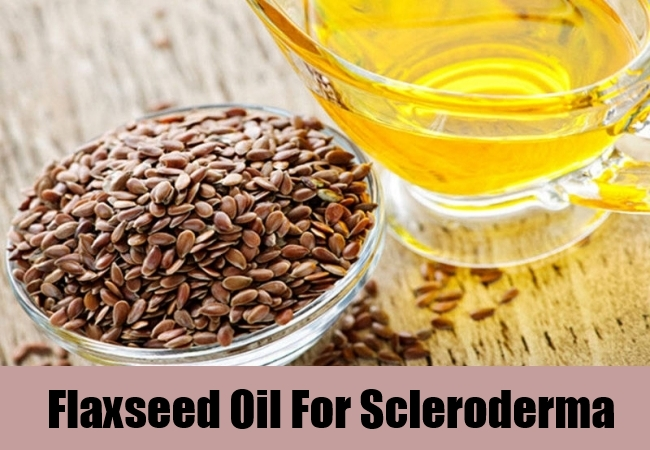 Flaxseed Oil For Scleroderma