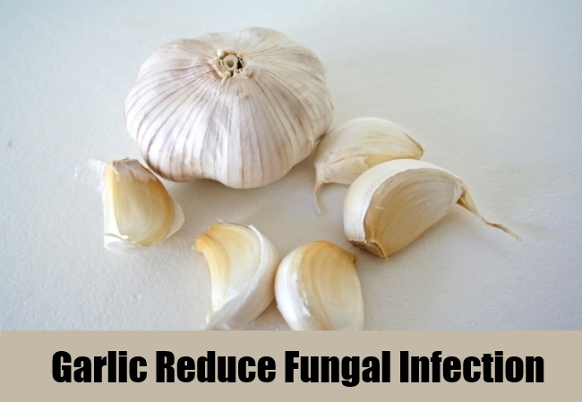 Garlic Reduce Fungal Infection