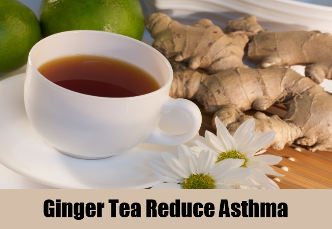 Ginger Tea Reduce Asthma