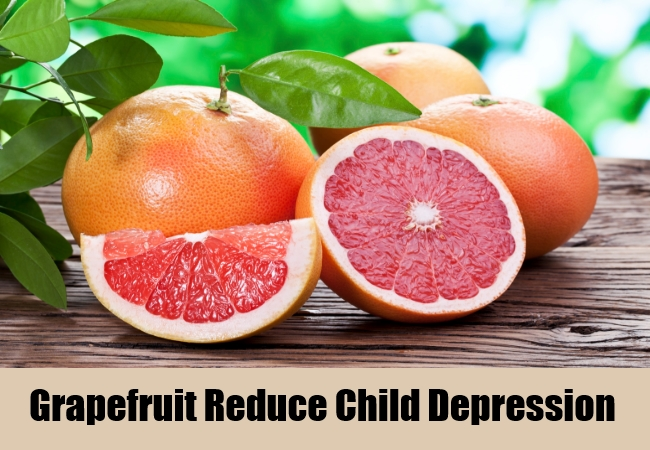Grapefruit Reduce Child Depression