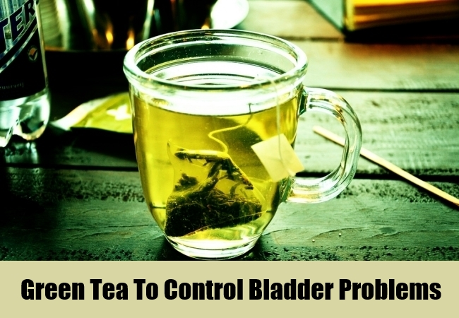 Green Tea To Control Bladder Problems
