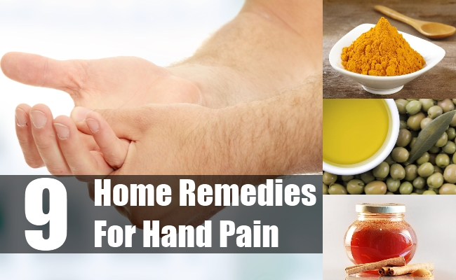 Home Remedies For Hand Pain