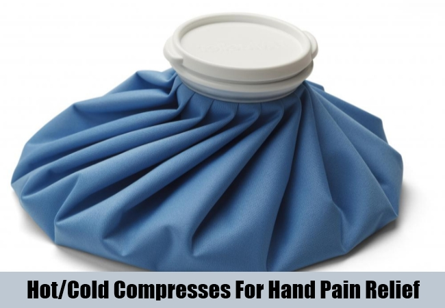 Hot,Cold Compresses For Hand Pain Relief