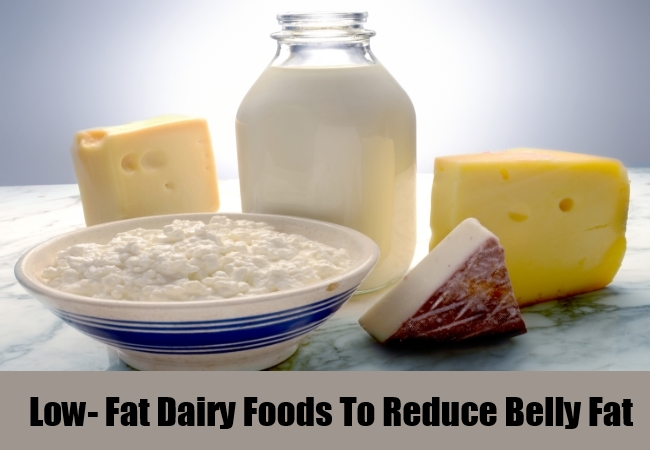 Low- Fat Dairy Foods To Reduce Belly Fat