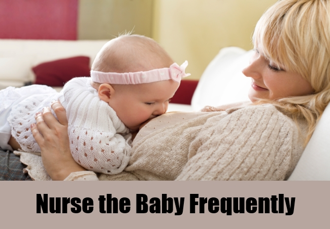 Nurse the Baby Frequently