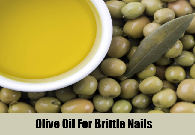 Olive Oil For Brittle Nails