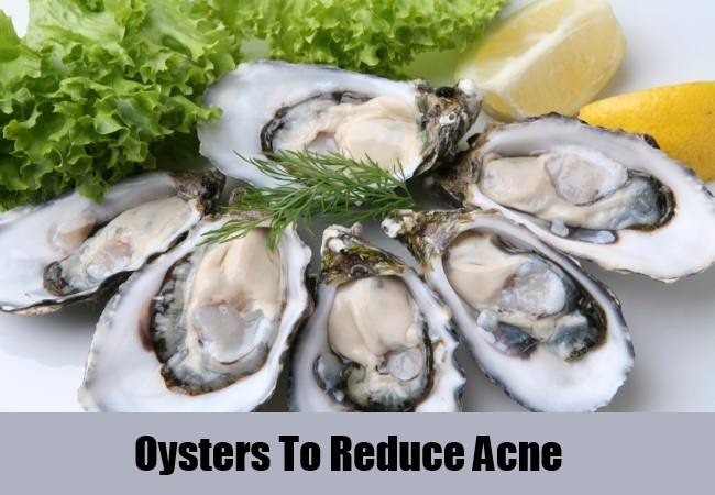 Oysters To Reduce Acne