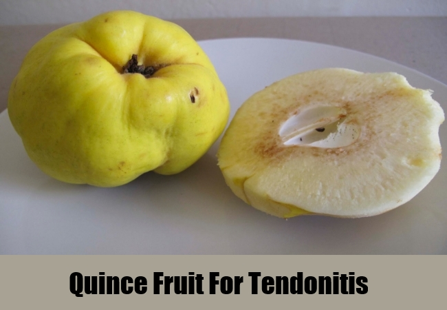 Quince Fruit For Tendonitis