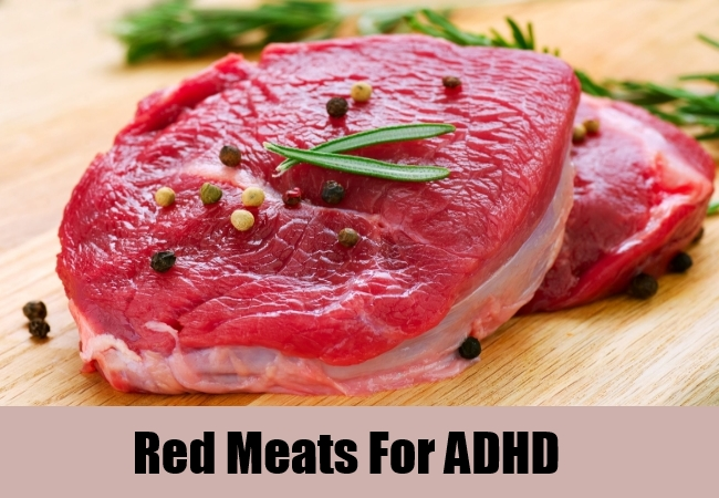 Red Meats For ADHD