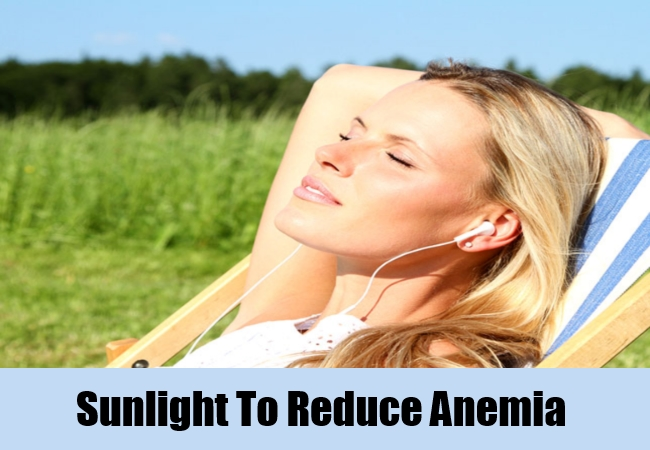 Sunlight To Reduce Anemia