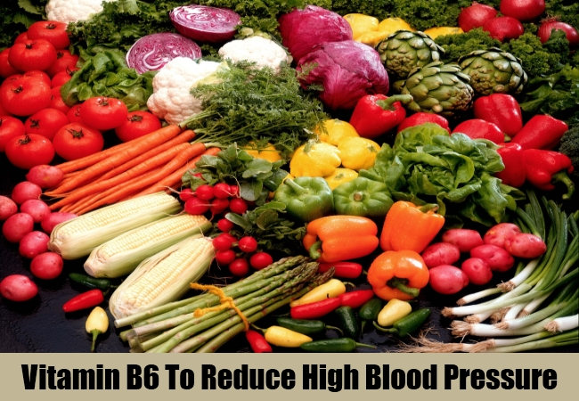 Vitamin B6 To Reduce High Blood Pressure