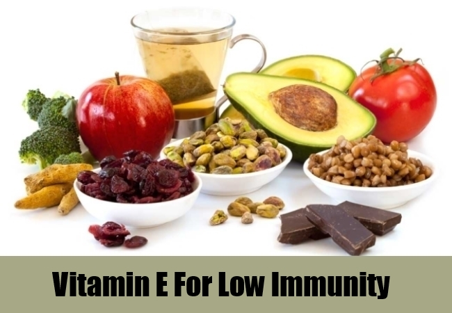 Vitamin E For Low Immunity