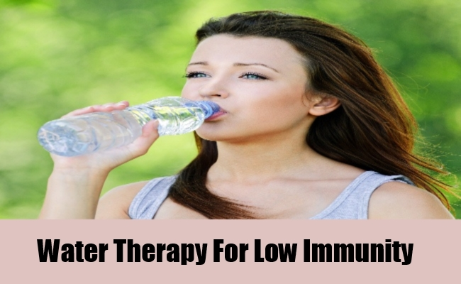 Water Therapy For Low Immunity