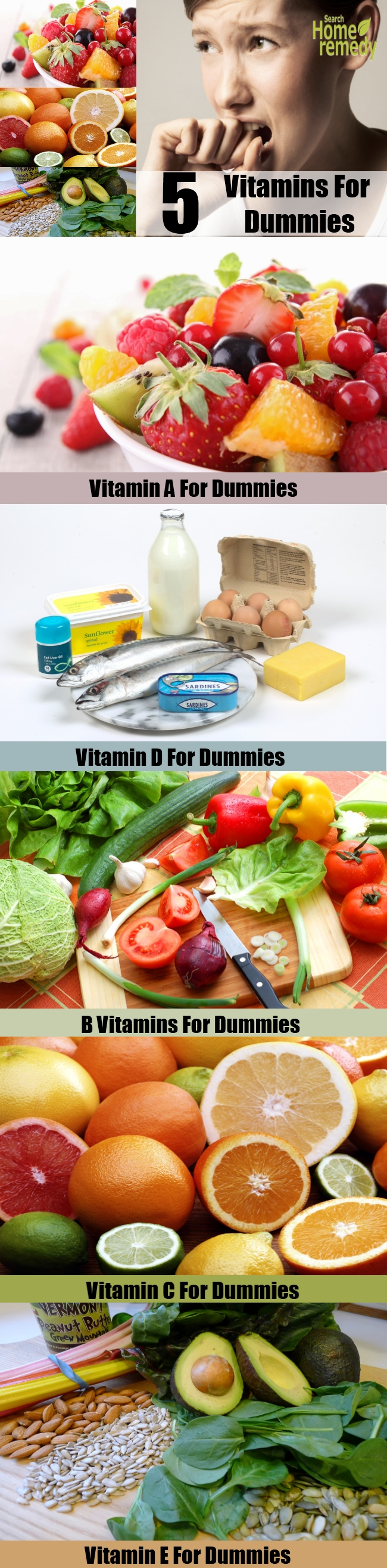 Top 5 Vitamins For Dummies