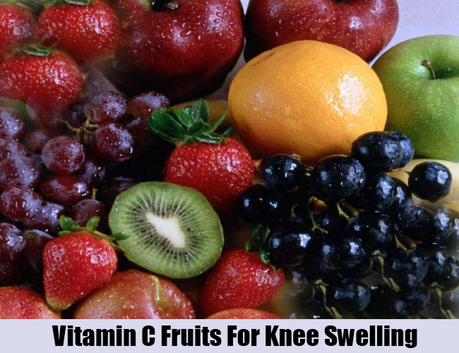 Vitamin C Fruits For Knee Swelling