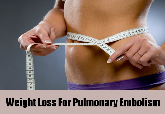 Weight Loss For Pulmonary Embolism
