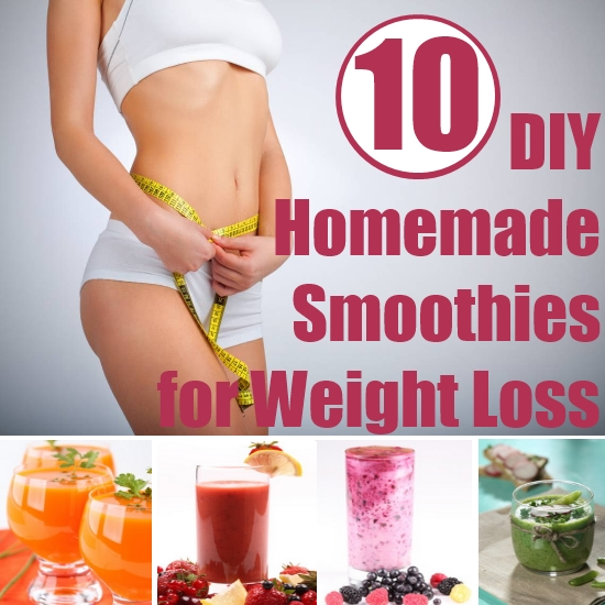 Top 10 Diy Homemade Smoothie Recipes For Weight Loss Search Home Remedy