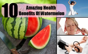 10 Amazing Health Benefits Of Watermelon