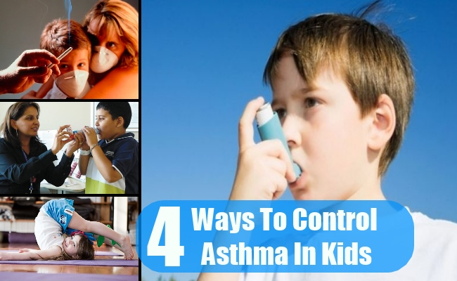 4 Ways To Control Asthma In Kids