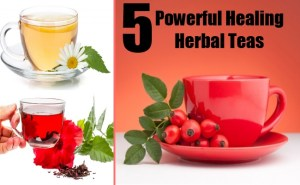 5 Powerful Healing Herbal Teas