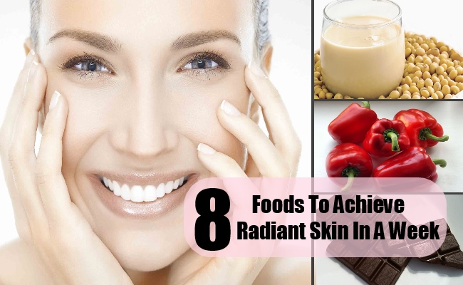 8 Foods To Achieve Radiant Skin In A Week