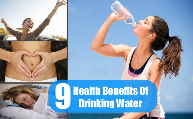 9 Awesome Health Benefits Of Drinking Water