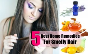5 Best Home Remedies For Smelly Hair
