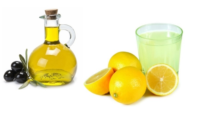 Lemon Juice And Olive Oil