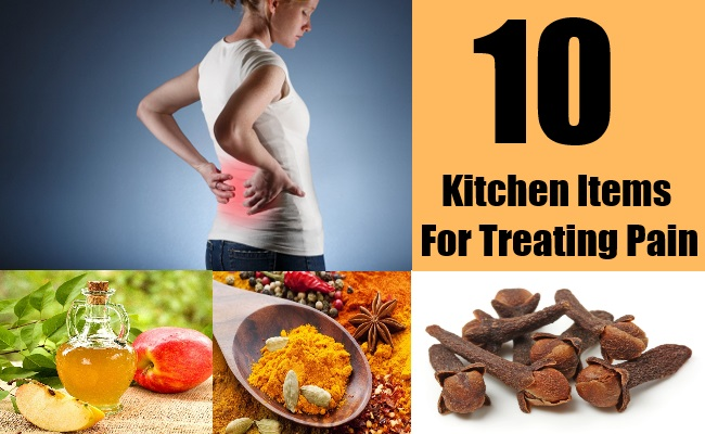 10 Kitchen Items For Treating Pain