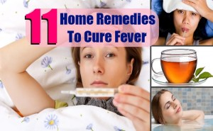 11 Top Home Remedies To Cure Fever