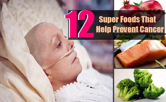 12 Super Foods That May Help Prevent Cancer