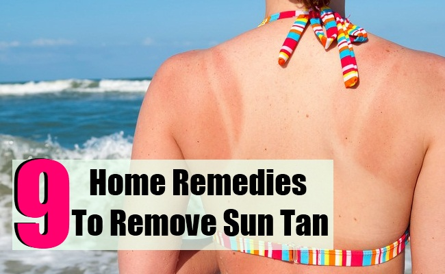 9 Best Home Remedies To Remove Sun Tan