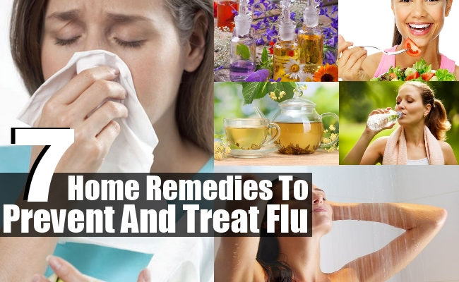Remedies To Prevent And Treat Flu
