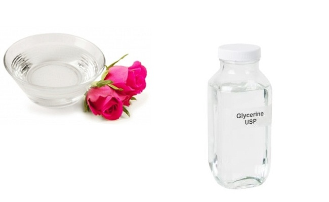 Use Glycerine And Rose Water