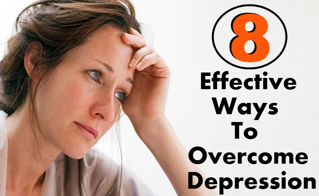 8 Effective Ways To Overcome Depression