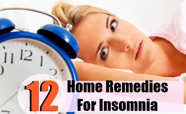 Effective Home Remedies For Insomnia