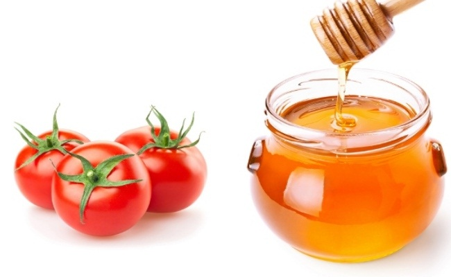 Honey And Tomato For Rosy Cheeks