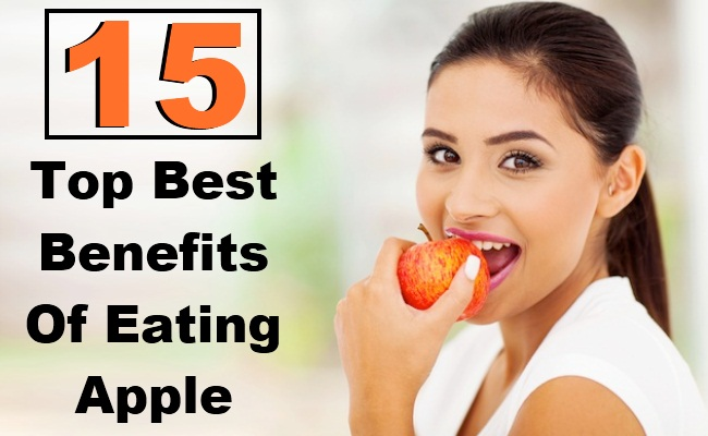 Top 15 Benefits Of Eating Apple