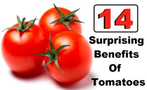 14 Surprising Benefits Of Tomatoes