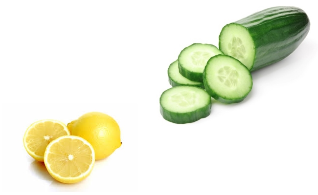 Cucumber With Lemon