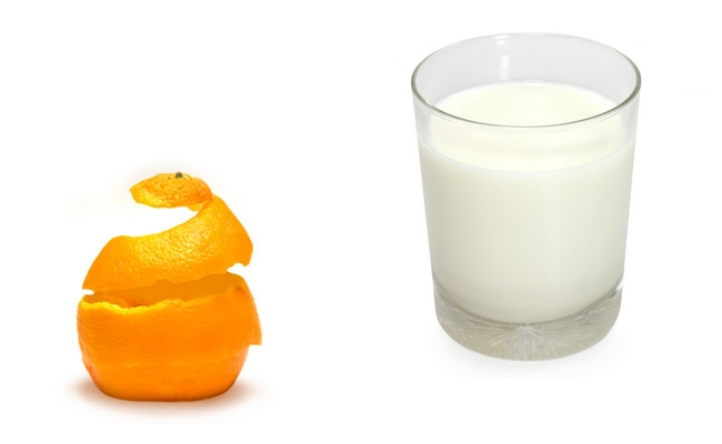 Milk & Orange Peel