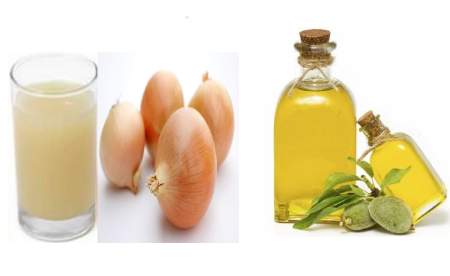 Onion Juice With Oils