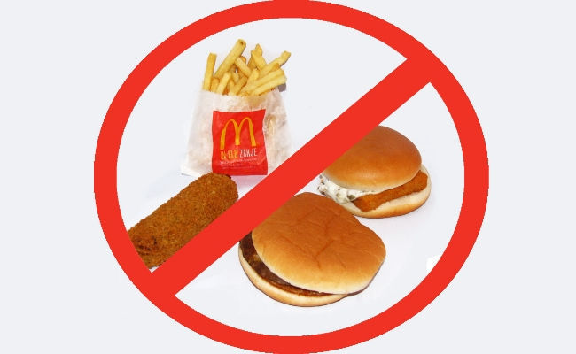 Avoid Fast Foods