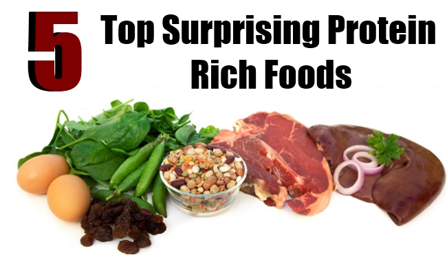 Top 5 Surprising Protein Rich Foods