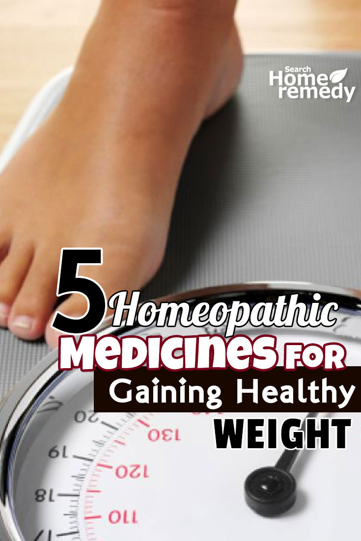 Homeopathic Medicines For Gaining Healthy Weight