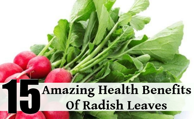 Amazing Health Benefits Of Radish Leaves
