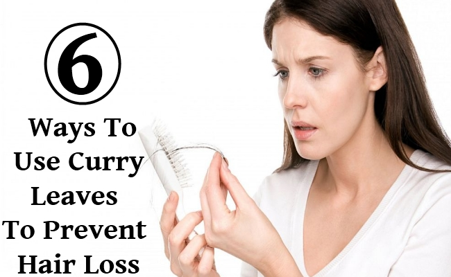 Ways To Use Curry Leaves To Prevent Hair Loss
