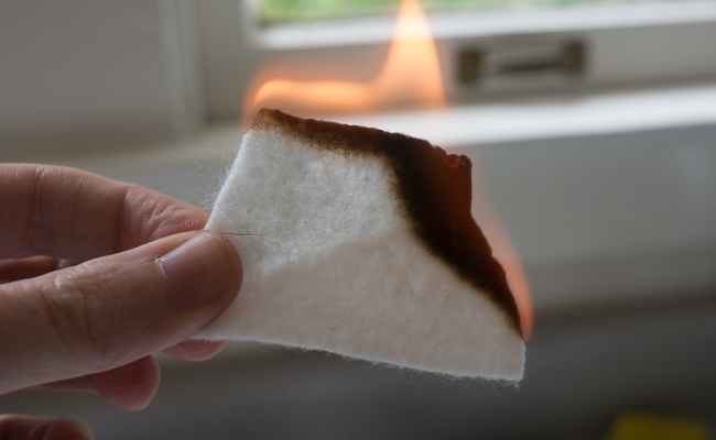 Burnt Cotton Cloth