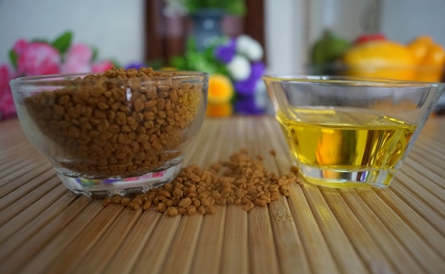 Fenugreek And Olive Oil